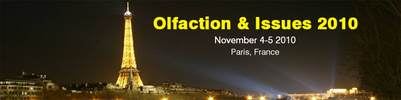 Olfaction and issues 2010