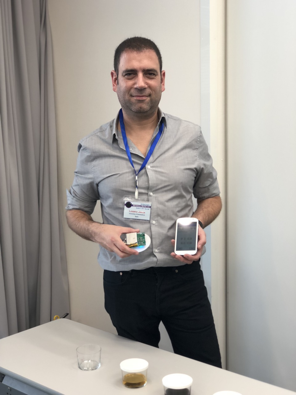 Digital Olfaction 2018 Meeting Scientific Award - Jesus Lozano Rogado
